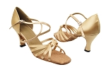 6005 135 Light Brown Satin