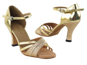 6030 Gold Stardust & Gold Leather