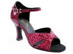 6029 Red Sparkle & Red Patent
