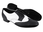 PP301 BB1 Black Leather_L_BB12 White Leather
