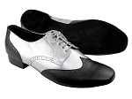 PP301 Black Leather_BB3 Silver Leather
