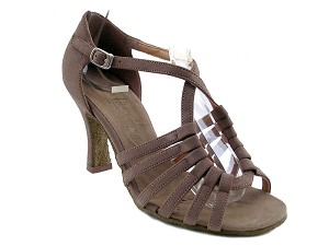 "1661 Brown Nubuck with 3"" Heel in the photo"