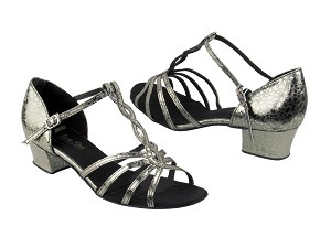 "1692 208 Ultra Grey without Mesh with 1.5"" Medium heel in the photo"