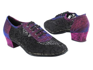 "2002 155 Purple Illustion_46 Mesh with 1.5"" Heel in the photo"