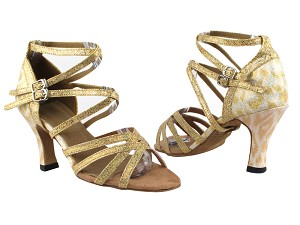 "5008Mirage 173 Light Gold Scale_F_S_T_254 Gold_B_H with 3"" Heel in the photo"