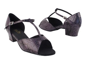 "801_1609_5004 252 Purple Snake 1.5"" Medium Heel in the photo"