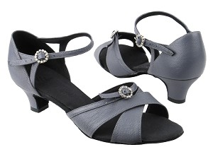 "PP204 BC17 Grey Light Leather with 1.2"" heel in the photo"